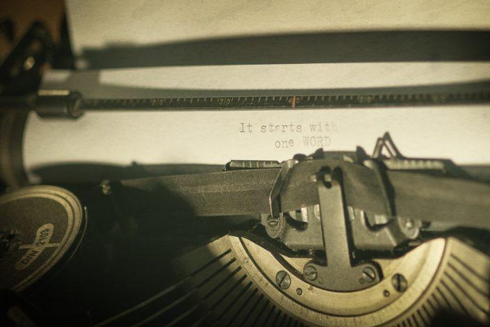 Schreibmaschine TypeWriter